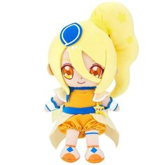 Bandai HUG-tto! Precure Cure Friends Stuffed Plush Doll Etoile from Japan F/S #Bandai