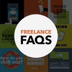 Need to know something about freelancing? Need to get inspired? Here is a giant list of things to keep you educated and motivated to live a well-rounded freelance life.   We will update this continually as more posts are released.