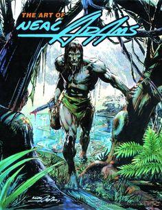 The Art of Neal Adams - Tarzan cover