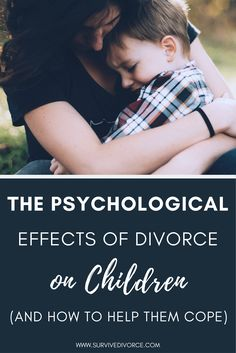 The Effects of Divorce on Children: A Parent's Guide How Divorce Affects Children, Coping With Divorce, Divorce With Kids, Children Of Divorce, Single Parenting, Kids And Parenting, Parenting Tips, Divorce Counseling, Personal Counseling