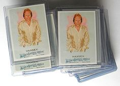 (50) - 2010 Topps Allen & Ginter #203 Sig Hansen All near Mint. Available for $40.00 via Paypal