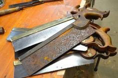 Saws Come Back to Life - By Paul Sellers