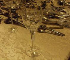 REED & BARTON CRYSTAL TULIPE WINE