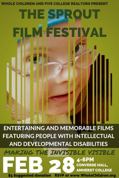 We are elated to host a screening of films from the Sprout Film Festival, curated by local filmmaker and Whole Children parent: Ted White! Click the flyer to watch our promo.