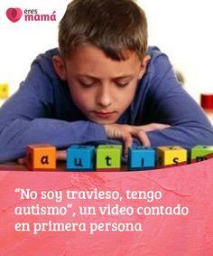 """""""No soy #travieso, tengo autismo"""", un video contado en primera persona   Este video de 90 segundos en primera persona te abrirá los ojos en torno al #autismo. ¿Qué y cómo #sienten los #pequeños que presentan esta #condición?"""