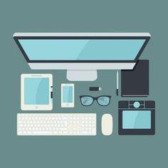 4a18ec3567c Free Download Desk Vector Illustration  design  designer  free  download   resource