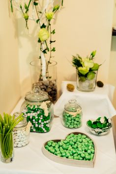 Sweet Table   Candy Bar   Wedding Candy Bar Wedding, Wedding Locations, Glass Vase, Inspiration, Sweet, Table, Home Decor, Hochzeit, Candy