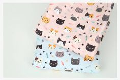Cat fabric Cat pattern Cotton woven by KoreaBacol Textile Prints, Textiles, Cat Fabric, Fabric Animals, Cat Pattern, Etsy Shipping, Fabric Patterns, Cats And Kittens, This Or That Questions