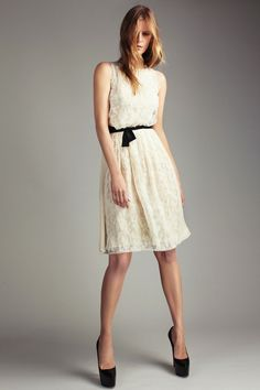 Ein kurzes Kleidchen im Hippie Look