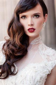 maquillaje-novia-labios-rojos.jpg (400×600)