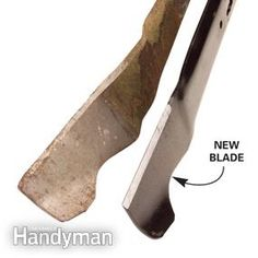 Your lawn mower blade is dull or mulching. We'll show you the difference old and new blades and how to sharpen a mower blade to perfection. Lawn Mower Maintenance, Lawn Mower Repair, Sharpen Lawn Mower Blades, Craftsman Riding Lawn Mower, Walk Behind Mower, Get Off My Lawn, Lawn Care Tips, Blade Sharpening, Lawn And Garden