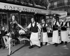 paris-fvdv: CAFÉ DE FLORE, 126 JAAR GESCHIEDENIS
