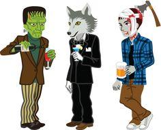halloween costumes clip art   Halloween Clip Art - Boys in ...
