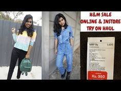 H&M Jeans 299 Rs? H&M Online & Store Sale Haul 2019 - HM India App Haul 2019 H&M Store Shopping Haul. H&M Haul from H&M India is where I do try on clothing haul from h&m India store shop. This H&M haul price is cheaper than sarojini nagar delhi price India Online, H&m Online, Online Sales, H&m Store, Sale Store, Clothing Haul, H&m Jeans, Try On, Affordable Fashion