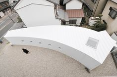 'Little one-room with a curve' by Studio Velocity in Nagoya city, Japan
