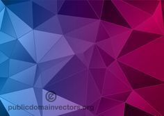 Abstract Polygon Background Illustrator