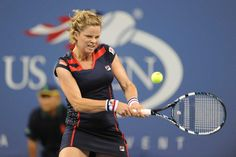 Kim Clijsters (BEL)[23] defeated Victoria Duval (USA) at Arthur Ashe stadium in the first round. - Rob Loud/USTA