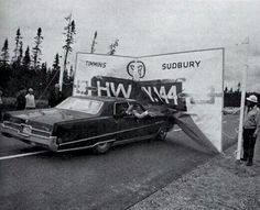 Timmins and Sudbury connected by Hwy 144