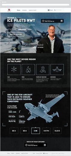 Ice Pilots on Explorer by Aleksey Gubsky, via Behance