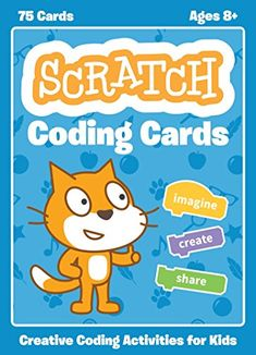 Natalie Rusk new books Scratch Coding Cards: Creative Coding Activities for Kids EPUB Creative Activities, Stem Activities, Creative Kids, Teaching Kids, Kids Learning, Visual Programming Language, Programming Tools, Computer Coding, Computer Lab