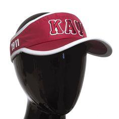 Kappa Alpha Psi Feather Light Visor