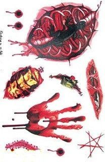 15 All New Different Halloween Temporary Tattoos