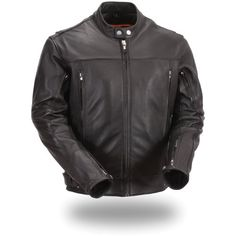 First Manufacturing Mens Updated Scooter Jacket (Black XX-Large) For Sale https://motorcyclejacketsusa.info/first-manufacturing-mens-updated-scooter-jacket-black-xx-large-for-sale/
