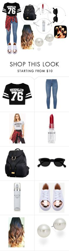 """""""tomboy chic style"""" by lina-alkhafif on Polyvore featuring Boohoo, Dorothy Perkins, Forever 21, Rodin, Kenneth Cole and AK Anne Klein"""