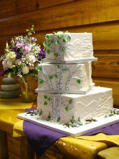 ... Aspen Tree Wedding Cakes on Pinterest | Aspen Trees, Aspen and Wedding