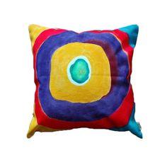 Guarda questo articolo nel mio negozio Etsy https://www.etsy.com/listing/276104398/handmade-and-hand-painted-pillow