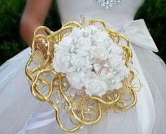Svatební+kytice+Malvina