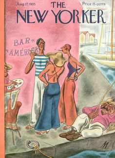 The New Yorker - Saturday, August 17, 1935 - Issue # 548 - Vol. 11 - N° 27 - Cover by : Julian de Miskey