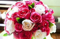 hot pink bridal bouquets - Google Search