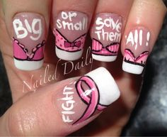 big or small lets save them all french bra nails :D <3