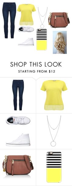 """""""plus size outfit"""" by emma-387 ❤ liked on Polyvore featuring M&Co, Vans, Botkier, Marc Jacobs and Casetify"""
