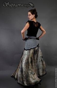 Блузка к серой юбке в москве