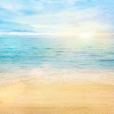 Tropical-Beach-8-039-x8-039-CP-Backdrop-Computer-printed-Scenic-Background-XLX-459