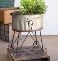 Farmer's Market Wire Display Stand, 3 Large Baskets - rustic farmhouse front door