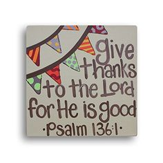 Give Thanks To The Lord For He Is Good, Thanksgiving Decor, Christian Canvas Art Whimsy http://www.amazon.com/dp/B015QSG0VS/ref=cm_sw_r_pi_dp_vmAkwb0GB284T