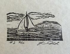 New to limwold on Etsy: Tiny Boat Study #2 (25.00 USD)