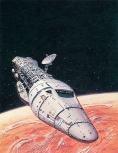 Peter Elson - Welcome to Mars by myriac, via Flickr | Click through for a larger image