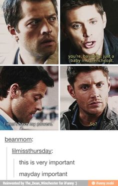 Character development. Supernatural knows how to do it right