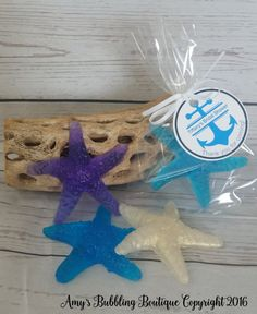 Starfish Soap Bridal Shower Party Favors - Nautical Theme Wedding Favors Custom Made for Beach Party - Pack of 10.    Fast Shipping.  #etsyshop #etsy #etsymntt #beach #starfish #destination #wedding #bridalshower #bridal #bachelorette #birthday #nautical