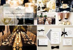 Week 9: Black and Gold Wedding Mood Board!  #week9 #weddingmoodboard #weekweddingmoodboard #blackandgold  #destinationwedding