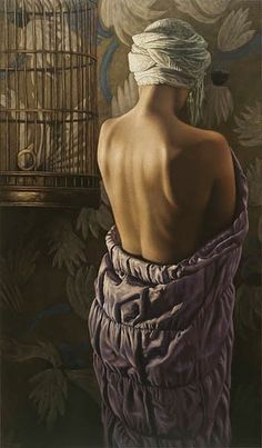 OddFuttos, When The Photos Speak: Stunning Figurative Paintings By The Artists Larissa Morais Hyper Realistic Paintings, Figure Painting, Art World, Figurative Art, Female Art, Fine Art, Statue, Canvas, Moscow