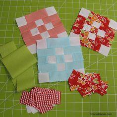 Free quilt block Patchwork-Quilt-Along