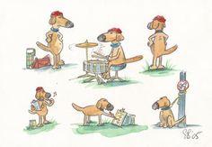 Children's Book Illustration - Sylvia Bennion