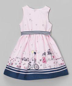 de2b88700 Funkyberry Pink Bicycle Sleeveless Dress - Toddler   Girls