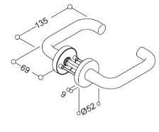 Image result for glass door handle assembly drawing | 11GRA ...