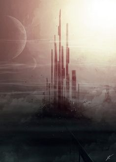 Megaestructure cyberpunk, via Flickr.